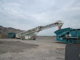 Mining equipment made by Telestack in Omagh, Co Tyrone