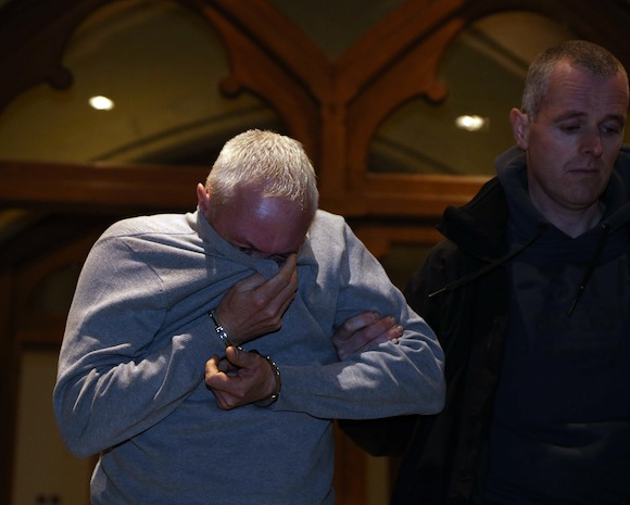 Paul McConville, Lurgan, Co. Armagh, who was charged with possession of drugs at a special sitting of Sligo, District Court, Sligo, yesterday. Copyright: James Connolly