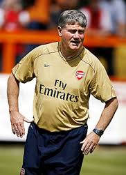 Arsenal legend Pat Rice in hospital receiving treatment for cancer
