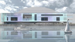What the new Waterfront Hall extension will look like