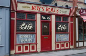 Roy's Rolls is a central piece of the soap Coronation Street