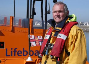 Philip McNamara, RNLI coxswain in Donghadee, Co Down. PIc courtesy of RNLI and Maurice Neill