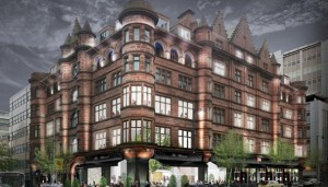An artist's impression of how The Mutual Hotel will look like