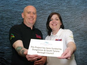 James and Linda McCartney from Bush Road Races which received funding through Dungannon and South Tyrone Borough Council's Strategic Partnership Event Fund.