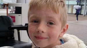 Seven-year-old primary school boy Logan Crawford