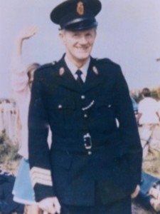 Murdered RUC officer Sgt Joe Campbell