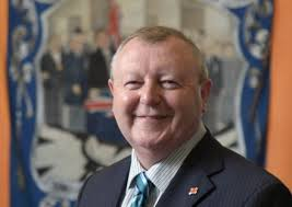 The Orange Order's Grand Secretary Drew Nelson