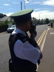 Police out to nab speeding motorists in Groomsport