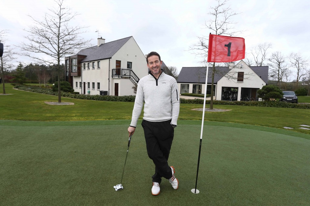 Northern Ireland property developer and entrepreneur Gary McCausland is offering golf fans a unique opportunity to literally walk in the footsteps of Rory McIlroy and play a round of golf on the course that the world's number one golfer designed and built himself.