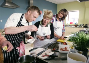 Kilkeel is the Seafood Capital of the Mountains of Mourne.  The Mourne Seafood Cookery School is a state of art cookery school located in the Nautilus Centre