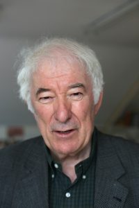 The late great writer and poet Seamus Heaney