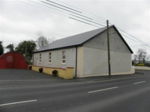The Orange Hall before it was destroyed in a mystery blaze