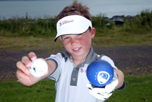 Thompson Gedge (7) gears up for next month's Ryder Cup at Gleneagles