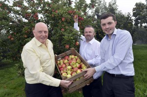 SWEET DEAL: Musgrave Retail Partners (MRPNI) is joining forces with Co. Armagh company P McCann and Sons to supply consumers with Northern Ireland produced apples and pears. PIC: STEPHEN HAMILTON/PRESSEYE