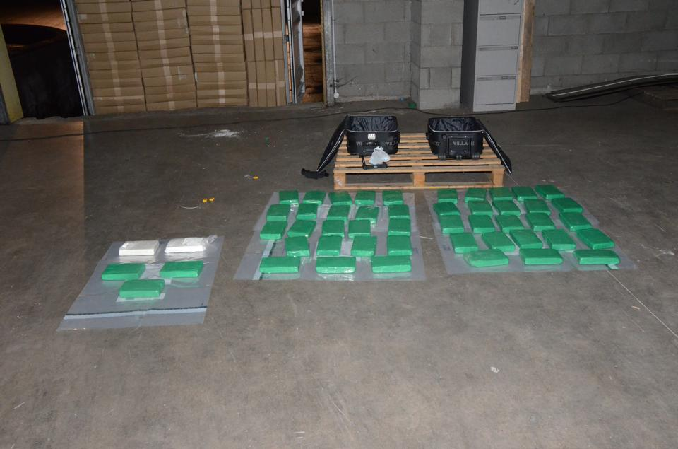 The massive £2.5 million cocaine seizure found by police in Co Tyrone last month