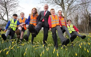 Minister Danny Kennedy launches Walk to School competition
