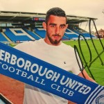 JOE IS A POSH BOY AFTER AGREEING PERSONAL TERMS WITH PETETBOROUGH UTD