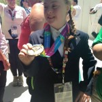 DEARBHAIL SAVAGE WINS GOLD MEDAL AT SPECIAL OLYMPICS