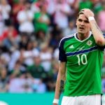 FA BETTING CHARGE FOR NORTHERN IRELAND STRIKER KYLE LAFFERTY