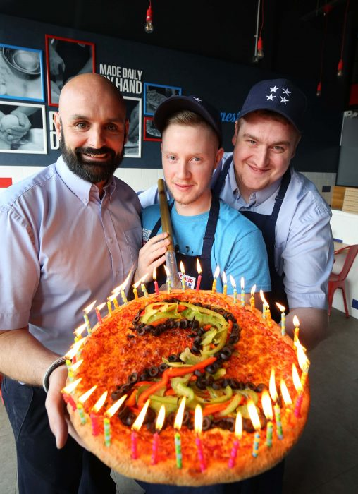 2nd Birthday A Pizza Cake For Four Star Pizza In Carrick