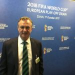 BREAKING SPORTS NEWS: NORTHERN IRELAND TO PLAY SWITZERLAND IN WORLD CUP PLAY OFFS