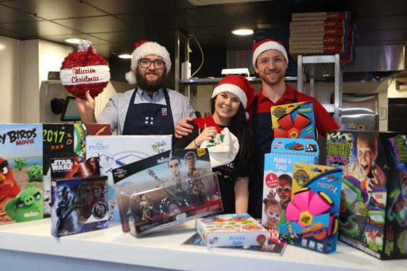 Four Star Pizza Backs Mission Christmas Belfast Daily