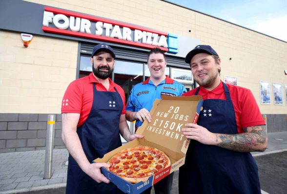 20 New Jobs As Four Star Pizza Comes To Dundonald Belfast