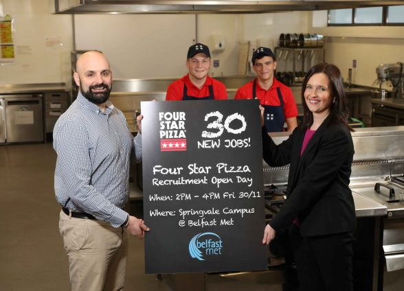 Four Star Pizza Serve Up 30 New Jobs In Recruitment Drive