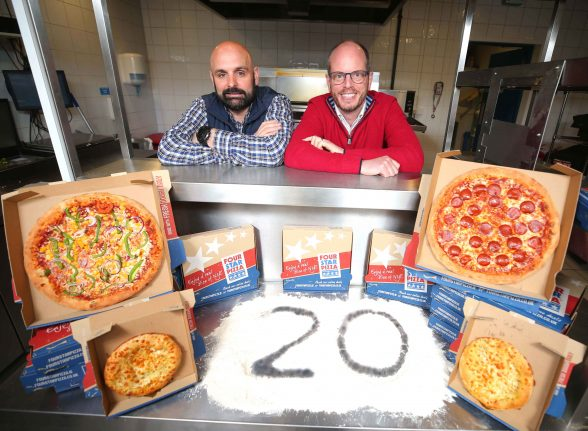 Four Star Pizza Celebrates 20 Years In Northern Ireland