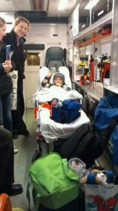 Brave Oscar Knox arriving back home in December from USA