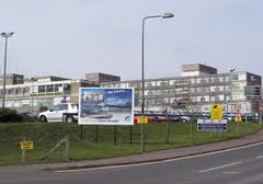 The Ulster hospital in Dundonald which is facing a bed shortage crisis