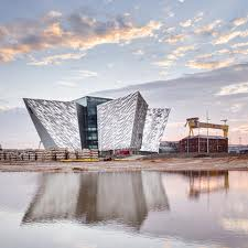 The iconic Titanic building in Belfast