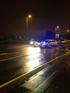 PSNI at the scene of murder bid on off-duty policeman in Bangor