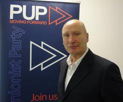 PUP leader Billy Hutchinson says he will in the council and general elections