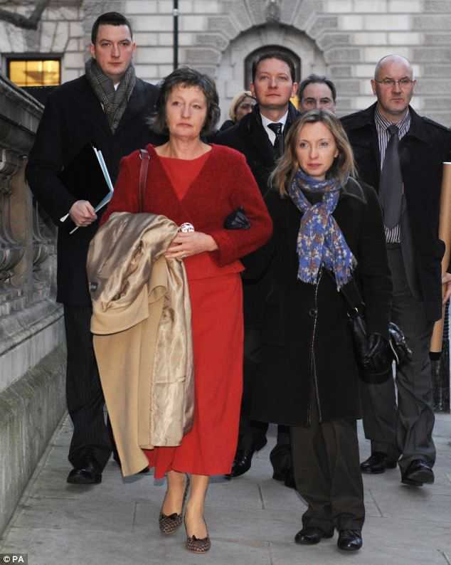Widow Geraldine Finucane and family lose judicial review proceedings