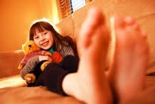 Lisburn girl Katie McCrory keeps warm with Power NI energy saving tips