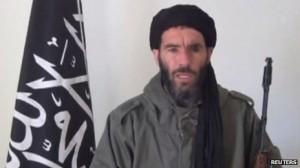 Senior Al Qa'eda commander Mokhtar Belmokhtar.