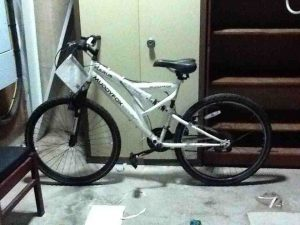 Mountain bike found by PSNI Tennent Street