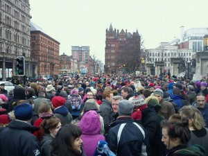 1,500 attend peace rally at Belfast City Hall on Sunday