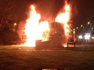Fresh trouble in east Belfast after petrol bombs thrown into Short Strand