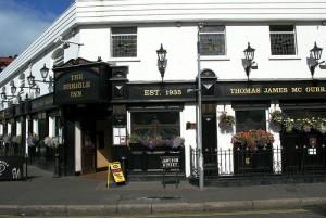 The Errigle Inn traded gave a free pint for HMV voucher