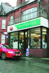 Robbery bid on Whitehead Post Office