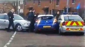 Police stop stolen Renault Megane car in west Belfast