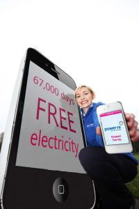 67,500 free days electricity for Power NI customers