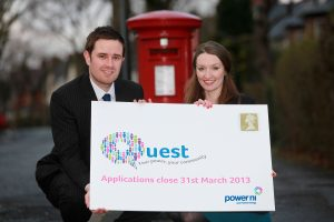 Neil Coleman and Michelle Carson from Power NI announce the final call for Quest applications