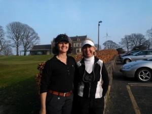 Malone Golf Club winenrs and Sharon Cox