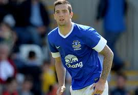 Everton player Shane Duffy at centre of