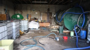 Inside the diesel fuel laundering plant uncovered in Co Armagh