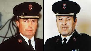 Families of Chief Supt Harry Breen and Supt Bob Buchanan receive report into their 1989 murders by the IRA