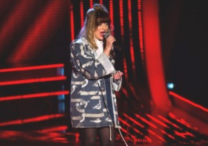 Leah McFall hopes to win over The Voice judges this Saturday